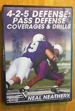 4-2-5 Defense: Pass Defense Coverages & Drills by Neal Neathery DVD, Football