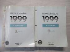 New listing 1999 Cadillac Seville Service Shop Repair Manual Set