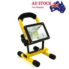 30W LED Rechargeable Flood Spotlight Light Outdoor Garden Emergency Work Lamp