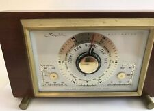 Vintage Airguide MCM Barometer Temperature Humidity Desktop Weather Station
