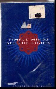 SIMPLE MINDS SEE THE LIGHTS VINTATE CASSETTE SINGLE STILL SEALED