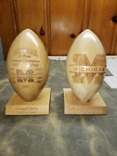 Michigan Football National Championship Bookends 1901 Through 1997