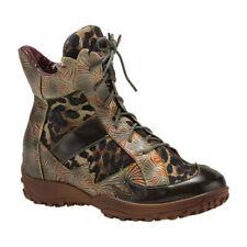 L'Artiste by Spring Step Women's   Ileana Leopard Ankle Bootie