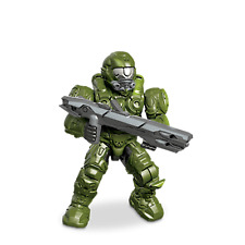 Mega Bloks Halo UNSC SPARTAN OPERATOR Green - Series 8 Minifigure