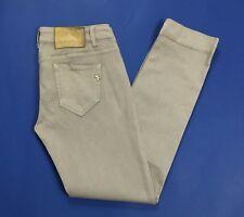 Lilly rose melody jeans slim usati skinny stretti usato grigio stretch T2947