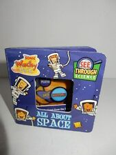 "Sonic All About Space See Through Science Book 4 1/4"" x 4 1/4"""