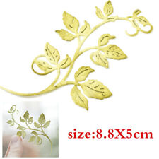 Leaf Strip Metal Cutting Dies Stencil DIY Scrapbooking Album Paper Card Crafts