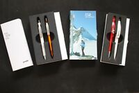 4 Präsentations Boxen von PRODIR  DS2 & ES2  8 Top KUGELSCHREIBER Swiss Pen