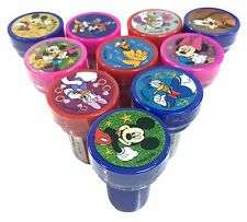 10ct Disney Mickey Minnie Mouse Stamps self-ink toy Party Favors Party Supply