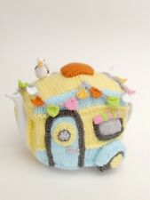 Vintage Caravan Tea Cosy Knitting Pattern to knit your own Caravan Teapot Cover