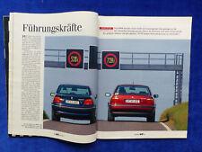 BMW 528i E39 vs BMW 728i E38 - Vergleich - Auto Motor Sport Heft 26 / 1995