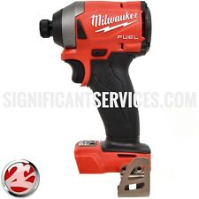 "New Milwaukee 2853-20 FUEL M18 18-Volt Brushless 1/4"" Hex Cordless Impact Driver"