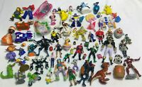 Action figure mixed lot lot 67 plastic Pokémon DC marvel super hero sonic batman