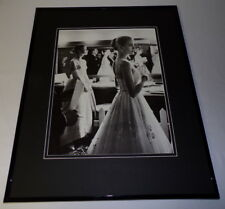 Grace Kelly & Audrey Hepburn Academy Awards 1956 Framed 16x20 Photo Display