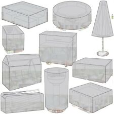 Assorted Outdoor Protective Waterproof Covers For Furniture Garden Medium Large