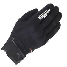 Guantes de textil de palma de color principal negro para motoristas