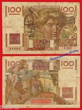 FRANCIA FRANCE 100 francos francs 1948 Pick 128b  BC  /   F