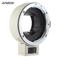 Auto Focus AF TTL Lens Adapter Ring Mount for Canon EOS EF EF-S to SONY E NEX A7