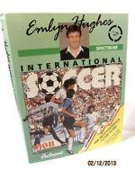 ZX SPECTRUM 48K GAME -- EMLYN HUGHES INTERNATIONAL SOCCER -- 1989