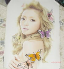 Japan IDOL Ayumi Hamasaki Mirrorcle World Taiwan Poster (Ver.B)
