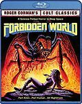 FORBIDDEN WORLD Blu-ray Special Ed Unrated Director's Cut BRAND NEW ! SEALED