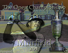 Golf Poster/British Open 2013 'The Open Championship 'Muirfield' /Phil Mickelson