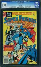 Super Friends #2 CGC 9.8 DC 1976 Superman! Batman! Wonder Woman! C4 914 1 cm