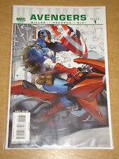 AVENGERS ULTIMATE #1 MARVEL 2ND PRINTING VARIANT CVR MILLAR CAPTAIN AMERICA