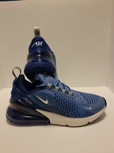Nike Air Max 270 Indigo Storm Running Shoes 943346-402 Size 6Y/ Women's 7.5