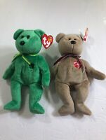 Ty Beanie Babies value bundle of two Dublin 2002 and signature bear 1999