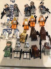 20 LEGO  Star Wars Ewok Village Chewbacca Rebels Minifigs ONLY