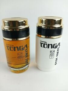 Vintage Amway TONGA  Man's After Shave (not full) and Cologne.