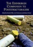 The Edinburgh Companion to Poststructuralism (Hardback book, 2013)
