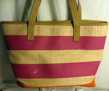 Ann Taylor Loft Multi-colored Jute Market Bag