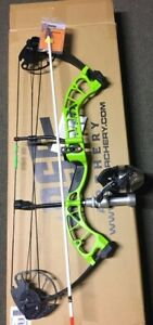 PSE D3  GREEN  Bowfishing Compound Bow,REST FISHING REEL ARROW