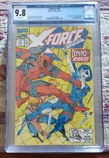 X-Force #11 CGC 9.8 White Pages! Domino! Deadpool! FREE SHIPPING