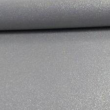 P&S INTERNATIONAL PLAIN PATTERN METALLIC GLITTER MOTIF TEXTURED WALLPAPER SILVER