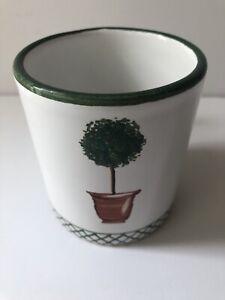 Vintage DERUTA Mug Alabasier Giardino Deruta Of Italy 1993 BEAUTIFUL