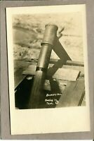 Postcard Burkley Well Flowing in Tank Real Photo RPPC c1930s 2694N