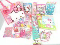 SANRIO HELLO KITTY Gify Bag Gift Set Sanrio Hello Kitty Kawaii Cute 25 Pcs New