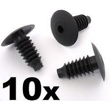 10x SKODA Kunststoffverkleidung Clips- Bung innen Tür Kofferraum-Auskleidung