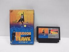 HUDSON HAWK -- Famicom, NES. Japan game. Work fully. 10993