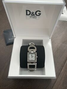 D&G Dolce and Gabbana Time Stainless Steel Women's Watch