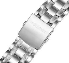 Nautica Men's N19509G   A19509G NST CHRONO 22mm Stainless Steel Watch Bracelet