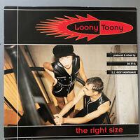 """Loony Toony – The Right Size  RARE 1992 Italy  Vinyl 12"""" JOY002  NMINT UNPLAYED"""