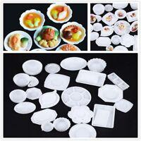 33pcs/Set Geschirr Spielen Küche Spielzeug Schalenschale Miniaturen Utensil