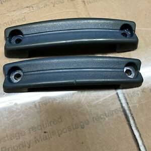 New Black Door Handle Bezel Pair LH/&RH Fit Datsun 620 UTE 1972-1979