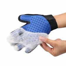 New ListingPet Grooming Glove Gentle Deshedding Brush Bathing Massage Pets Hair Remover