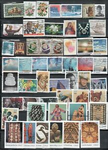 2004 52  Different Stamps incl Art of American Indian sets  used Fine