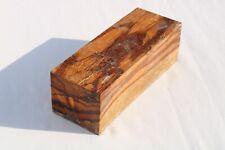 Marblewood Bowl Knife Call Cue Exotic Wood Turning Blank Lumber 2.6 x 2.9 x 7.7